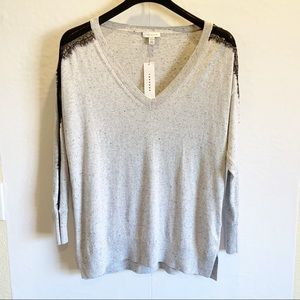 Topshop  Vneck knit sweater